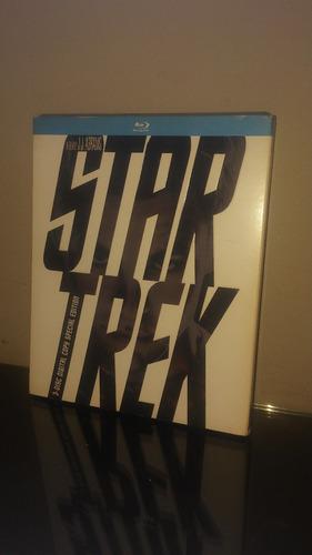 blu ray star trek / viaje a las estrellas (con cover)