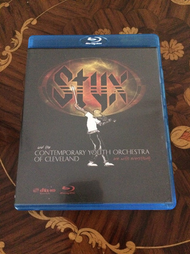 blu ray styx contemporary youth orchestra original $ 99,00!