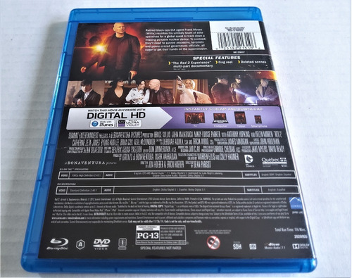 blu-ray summit entertainment: retirados, pero peligrosos 2ª