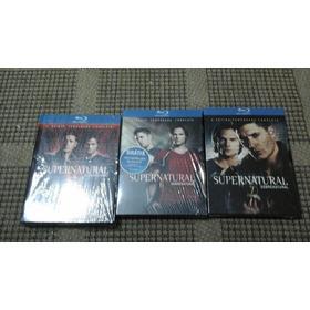 Blu Ray-supernatural-5,6,7 Temporada-completas-vendo A Parte