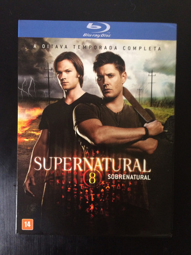 blu ray supernatural 8ªtemporada