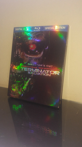 blu ray terminator salvation / la salvacion (con cover)