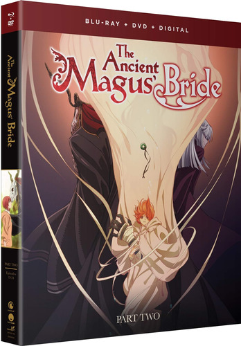 blu-ray : the ancient magus bride: part two (with dvd, boxed