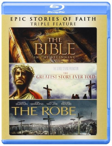 blu-ray : the bible / the greatest story ever told / the...