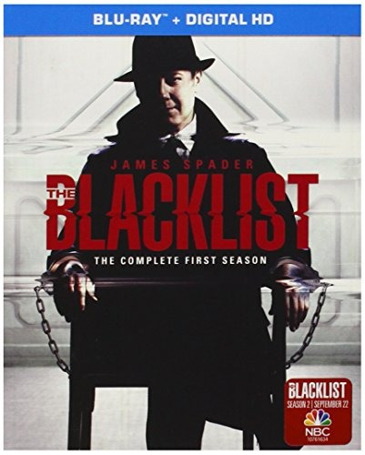 blu-ray : the blacklist: the complete first season...