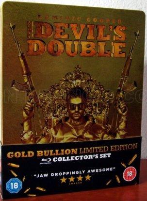 blu-ray the devil's double - duble de diabo - steelbook