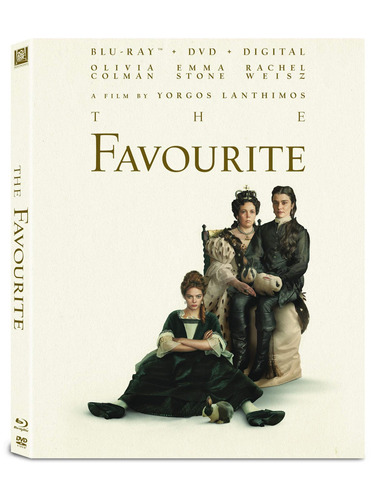 blu-ray : the favourite (with dvd, digitally mastered in hd,