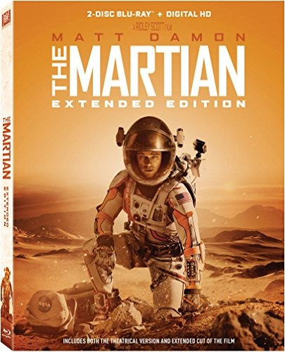 blu-ray : the martian (extended edition) (extended editi...