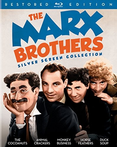 blu-ray :   - the marx brothers silver screen collection...