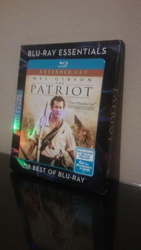 blu ray the patriot / el patriota (con cover) sellado