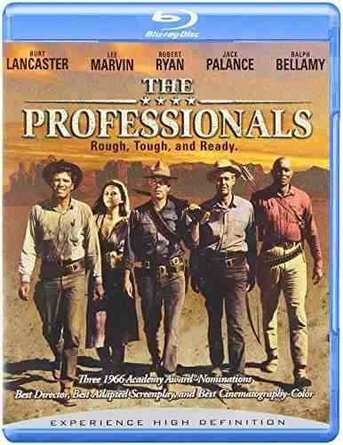 blu-ray :   - the professionals (widescreen, dolby, ac-3)