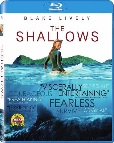blu-ray the shallows / miedo profundo