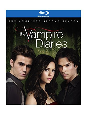 blu-ray : the vampire diaries: the complete second season...