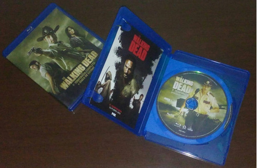 blu-ray the walking dead 1ª e 2ª temporada original