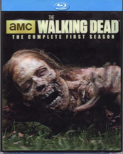 blu-ray the walking dead season 1 / temporada 1 / lenticular