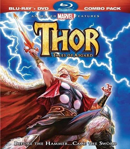 blu ray - thor (cuentos de asgard) - marvel