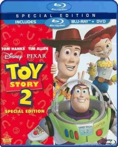 blu ray toy story 2 edicion 2 discos + dvd slip cover