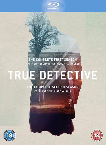 blu-ray true detective season 1 & 2 / temporada 1 & 2