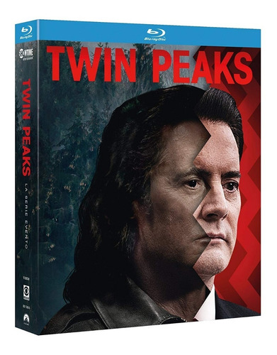 blu-ray twin peaks a limited event series (2017) temporada 3