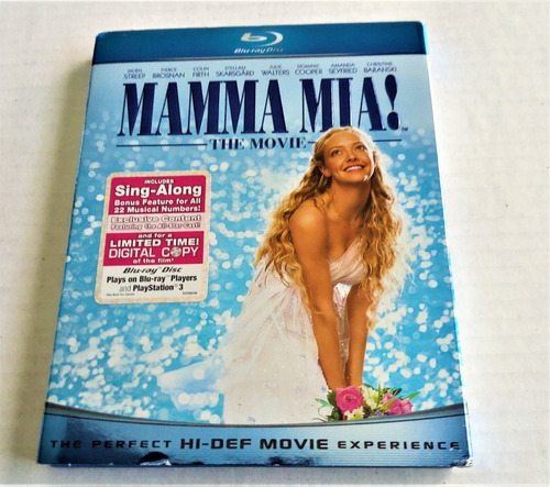 blu-ray  universal studios:  mamma mia! vamos otra vez