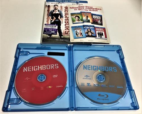 blu-ray universal studios: neighbors - buenos vecinos