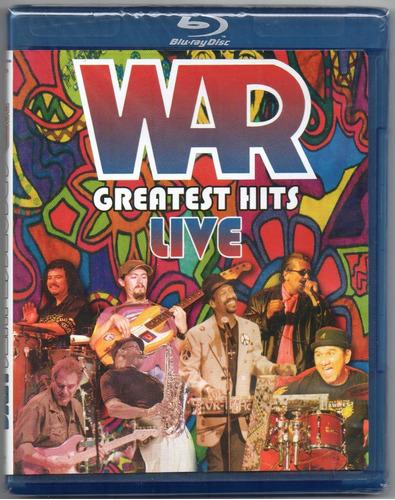 blu-ray war: greatest hits live (2007) - original & lacrado