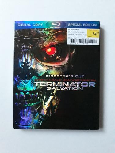 blu-ray warner brothers:  terminator salvation
