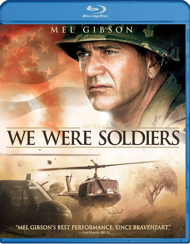 blu-ray : we were soldiers (widescreen, dolby, ac-3, dub...