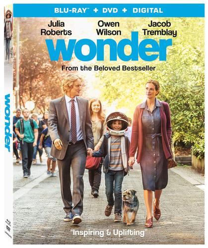 blu-ray : wonder (with dvd, ultraviolet digital copy, 2...