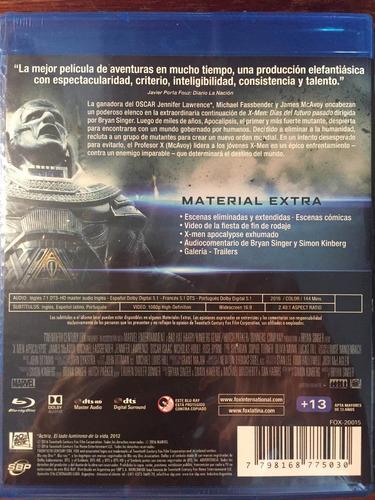 blu-ray x men apocalypse / x-men apocalipsis
