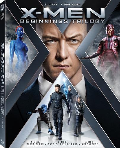 blu ray - x-men / colección / saga / incluye: 12 films
