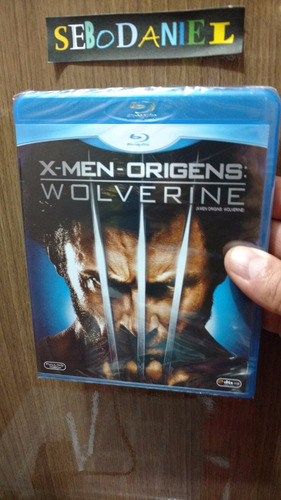 blu-ray x-men wolverine origens novo original e lacrado