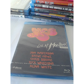 Blu Ray Yes Live At Montremx
