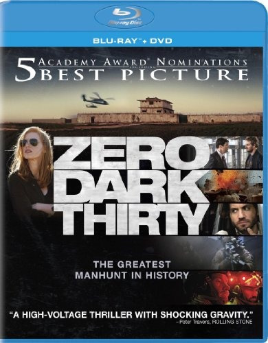 blu-ray :   - zero dark thirty (with dvd, ultraviolet...