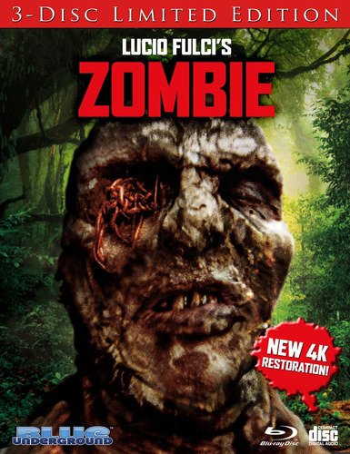 blu-ray : zombie (cover c worms) (limited edition,...