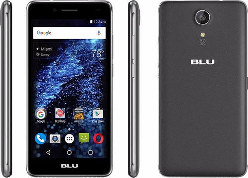 blu selfie 2 camaras de 5mpx ram 1gb mem 8gb  + envio gratis
