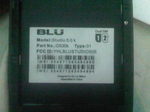 blu studio 5.0 d530k