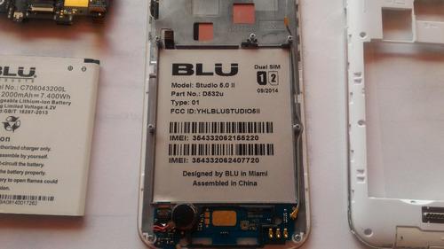 blu studio 5.0 ii d532u para repuesto tarjeta dañada