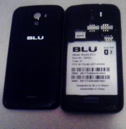 blu studio 5.0, modelo d532u.repuesto