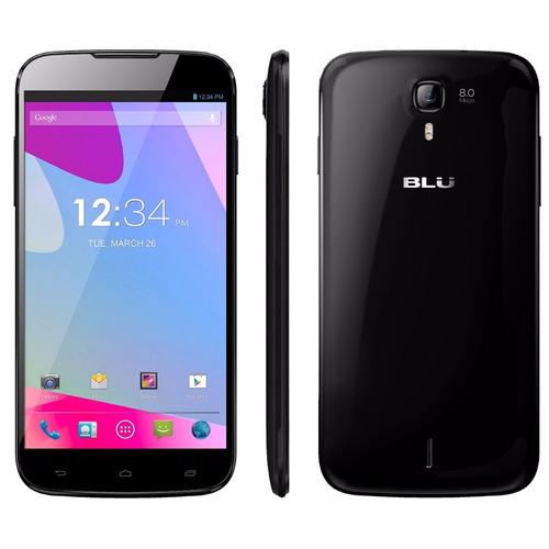 blu  studio 6 hd ram 1gb 4gb 8mpx