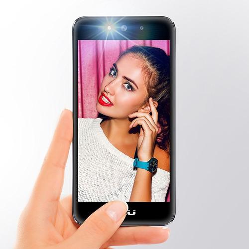 blu studio selfie 3 - 8gb interna 1gb ram 8 mp cam negro