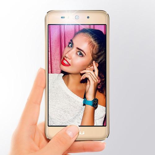 blu studio selfie 3 - 8gb interna 1gb ram 8 mp cam oro