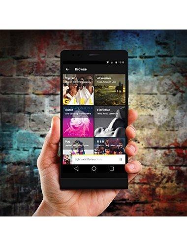 blu vida 8 xl smartphone - desbloqueado - us gsm - negro