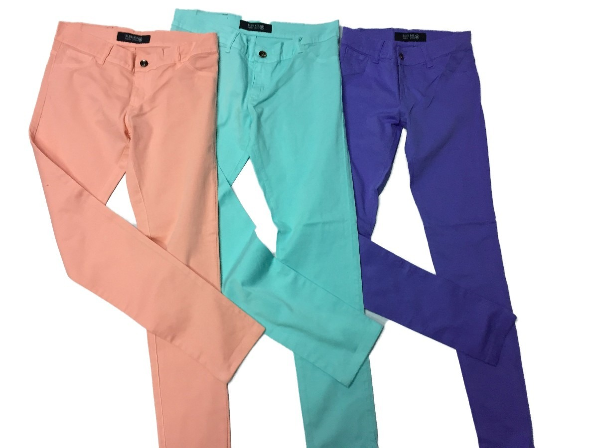 855a42a35a Blue Air Jeans - Pantalon Chupin Mujer - Colores - -   435