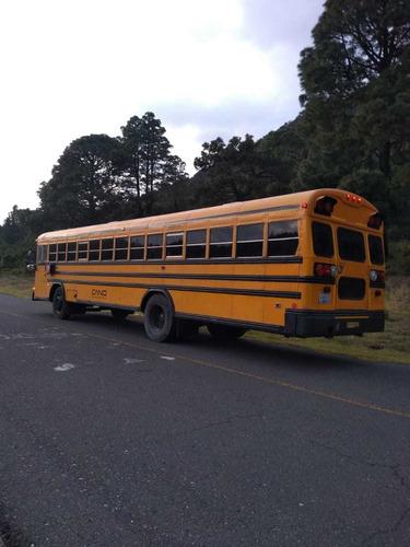 blue bird camion tipo escolar