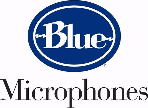 blue blueberry microfono condenser
