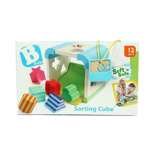 blue box cubo de madera con encastre (5914)