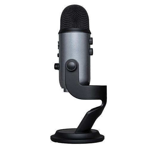 blue condensador microfone