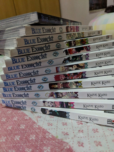 blue exorcist (ao no exorcist) - vários volumes