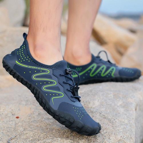 blue & greenoutdoor aqua shoes ligero